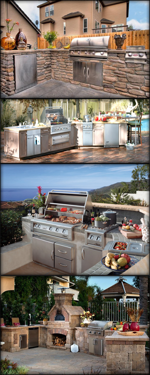 Outdoor kitchens insideoutside spaces denver co showroom for Kitchen showrooms denver
